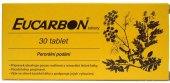 Tablety proti zácpě Eucarbon