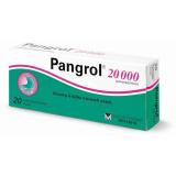 Tablety s enzymy k léčbě trávicích obtíží Pangrol 20 000 Menarini