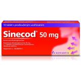 Tablety proti kašli Sinecod