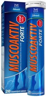 Šumivé tablety Muscoaktiv Stop Forte Zdrovit