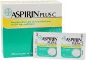 Šumivé tablety proti chřipce a nachlazení Aspirin C Bayer