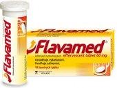 Šumivé tablety proti kašli Flavamed