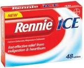 Tablety žvýkací proti pálení žáhy ICE Rennie