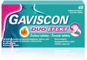 Tablety žvýkací proti pálení žáhy Gaviscon Duo Efekt