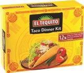 Kukuřičné placky Taco dinner kit El Tequito