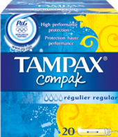 Tampony Compak Tampax