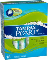 Tampony Pearl Tampax