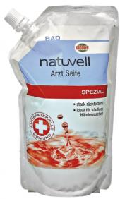 Tekuté mýdlo dezinfekční Natuvell - náhradní náplň