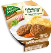 Řízek telecí máslový Chef Menü