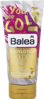 Tělová emulze Golden Shine Balea