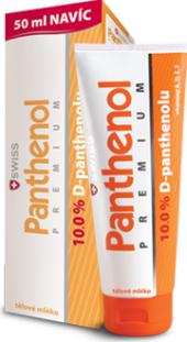 Tělové mléko Panthenol Premium