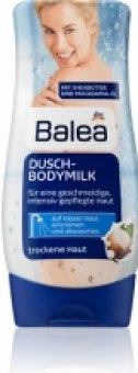 Tělové mléko & peeling do sprchy Balea