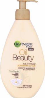Tělové mléko olejové Beauty Oil Garnier