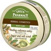 Tělový cukrový peeling Green Pharmacy