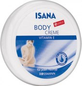 Tělový krém s vitamínem E Isana