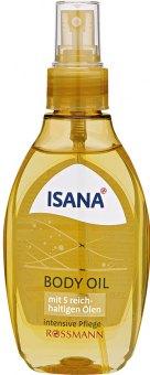 Tělový olej Isana