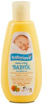 Tělový pečující olej dětský 3v1 Babylove