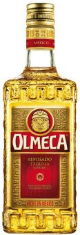 Tequila zlatá Reposado Olmeca
