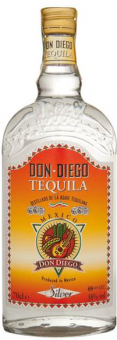 Tequila Silver Don Diego