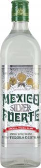 Tequila stříbrná Mexico Fuerte