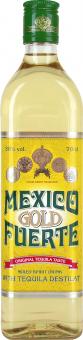 Tequila zlatá Mexico Fuerte