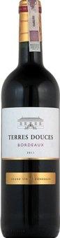 Víno červené Bordeaux Terres Douces