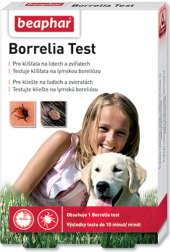 Sada testovací na bakterie z klíšťat Beaphar
