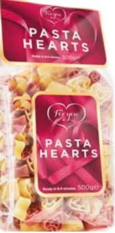 Těstoviny Pasta Hearts For you