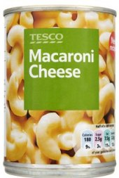 Těstoviny v sýrové omáčce Tesco