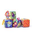 Textilní kostky Niny