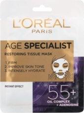 Textilní pleťová maska Age Specialist L'Oréal