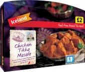 Tikka Masala kuřecí mražená Iceland
