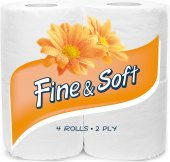 Toaletní papír 2vrstvý Fine&Soft