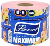 Toaletní papír 2vrstvý Flowers