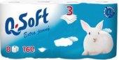 Toaletní papír 3vrstvý Q Soft