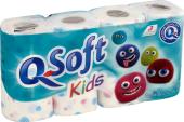 Toaletní papír 3vrstvý Kids Q Soft