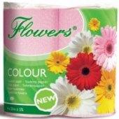 Toaletní papír Colour Flowers Chopa
