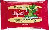Toaletní papír dětský vlhčený Lilliputz