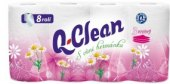 Toaletní papír 3vrstvý Q Clean