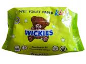 Toaletní papír vlhčený dětský Wickies