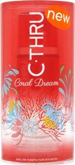 Toaletní voda dámská Coral Dream C-Thru