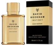 Toaletní voda pánská Instinct Gold Edition David Beckham