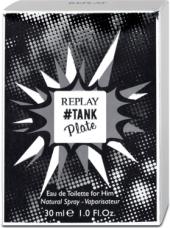 Toaletní voda pánská #Tank Plate Replay