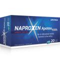 Tobolky proti bolesti Naproxen Apotex