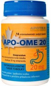 Tablety proti pálení žáhy Apo-Ome