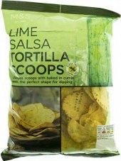 Tortilla chips bez lepku Marks & Spencer
