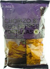 Tortilla chips Marks & Spencer