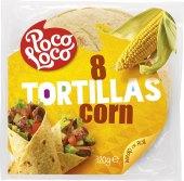 Tortilly kukuřičné Poco Loco