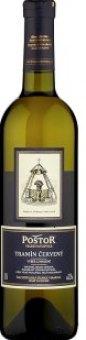 Víno Tramín červený Poštor Velké Pavlovice - výběr z hroznů