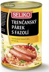 Párek trenčanský s fazolí Seliko